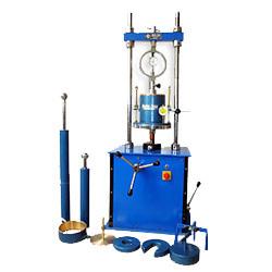Laboratory CBR Hand Cum Motorised Testing Machine
