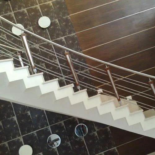 Stainless Steel Railings - Stainless Steel Stair Railing ...