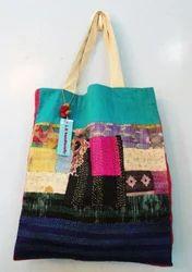 Designer Kantha Tote Bags