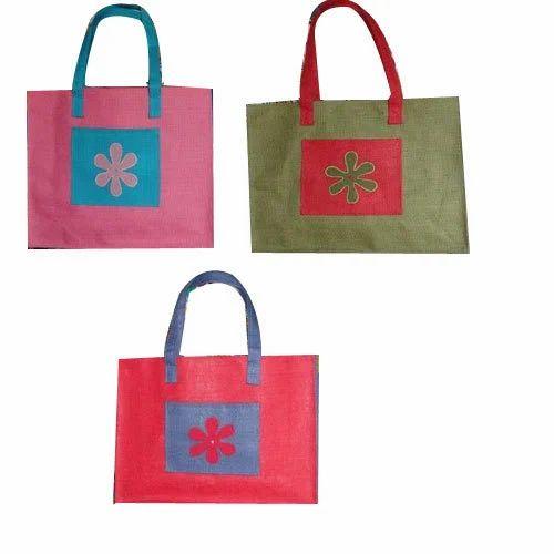 b176662be8f3 Printed Fancy Jute Bags