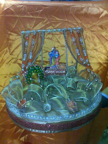 Wedding Decoration Items Decorative Tray Manufacturer Exporter