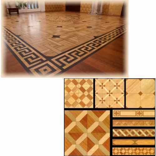 Wooden Flooring Decorative Wooden Borders Manufacturer