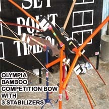 Olympia Bamboo Bow ( with Stabilizer )