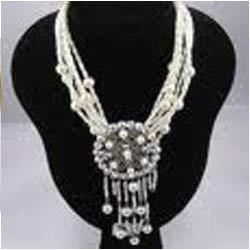 White Rodium Plated Necklace