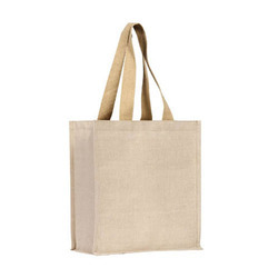 Natural Juco Bags with Cotton Tape Handle