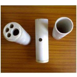 Kumar Ceramic Round Muffle Tubes and End Caps