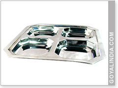 Stainless Square Dish