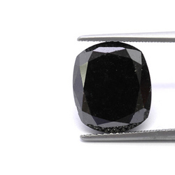 Cushion Cut Black Diamonds