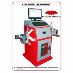 Semi-Automatic CCD Wheel Alignment Machine, 20 Deg, 450 Watts