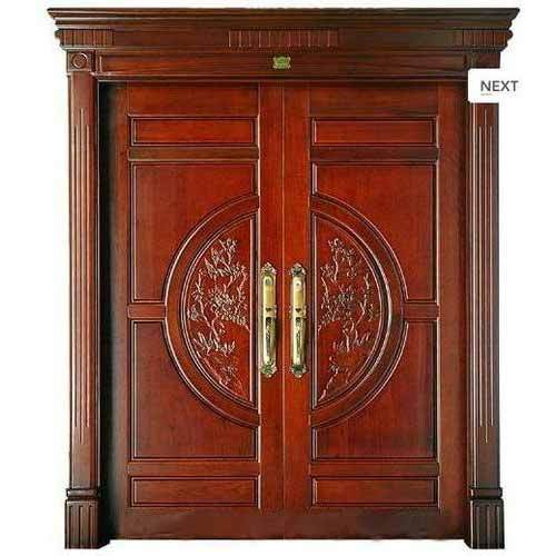 Main door wood main door designs images lovely modern for Indian main double door designs