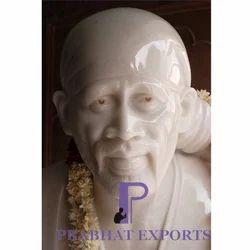 Marble Shirdi Sai Baba Moorti