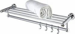 Polished Brass Bathroom Towel Racks