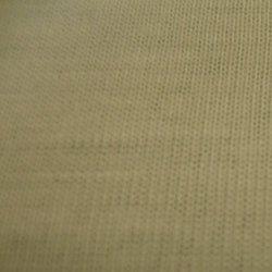 Spun Jersey White Fabric