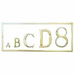 Letter Name Boards