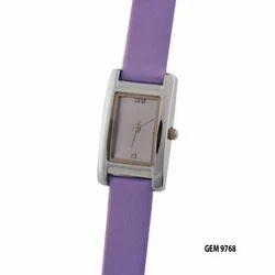 Purple Gem Wrist Watch