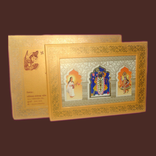 Bhagwat saptah invitations at rs 125 pieces anniversary bhagwat saptah invitations stopboris Gallery