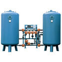 Automatic Horizontal Water Softening System