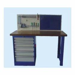Stainless Steel Rectangular Maintenance Work Bench Table