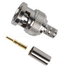 BNC Male Crimp Connectors for LMR 240 Cable