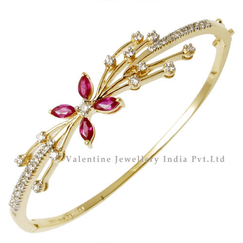bypass p bangle created white sapphire lab bracelet over in ruby gold silver bangles