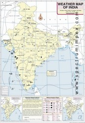 March Weather Map Of India