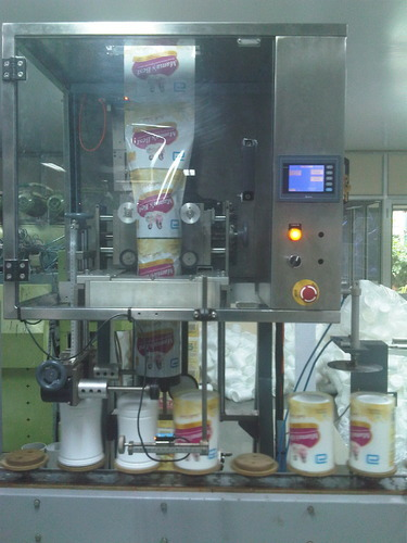 Shrink Sleeve Applicator Machine