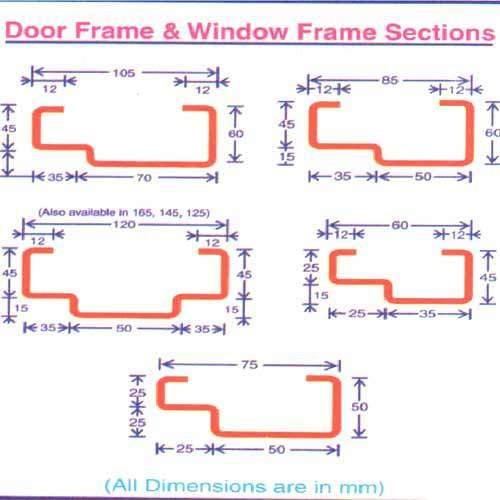 Ms Door Frame Sections Door Frame Section Manufacturer