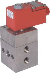 3 way Pilot Operated High Pressure Valve