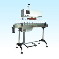 Conveyorized Induction Cap Sealing Machine