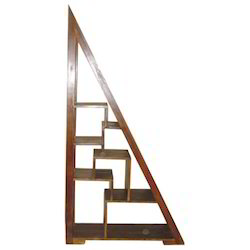 Triangular Pyramid Style Multiple Racks Book Shelf