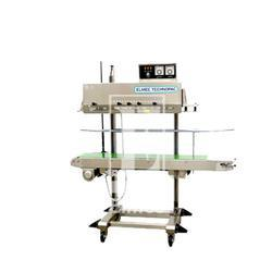 Vertical Continuous Band Sealer, 220 V, Sealing Width: 08/10/12 Mm