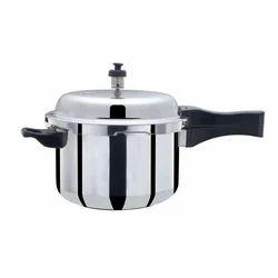 Apex Silver Aluminum Pressure Cooker 5 ltr