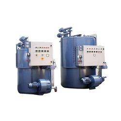 Vertical Three Pass Thermic Fluid Heater