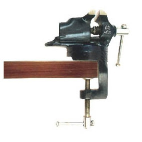 bench vices - apex code 741 mechanic bench vice (fixed base