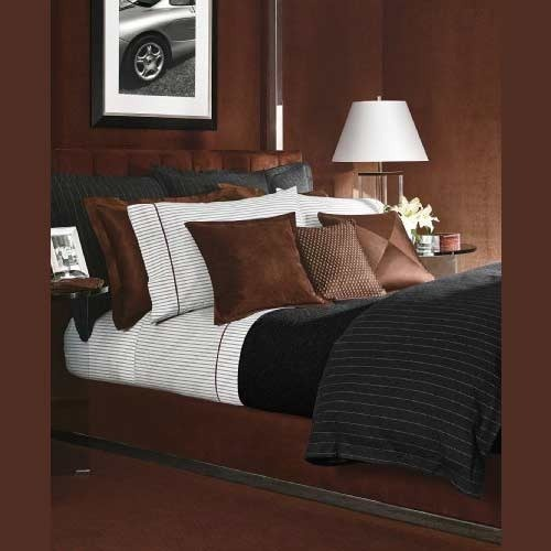 Metallic Masculine Bedroom: Exporter Of Home Textiles/Furnshings & Bath Accessories By