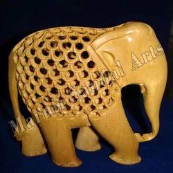 Sandalwood Undercut Elephant