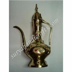 Brass Stone Surahi
