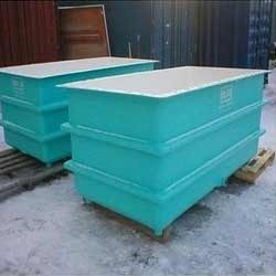 FRP Rectangular Tank, Storage Tanks, Drums & Containers