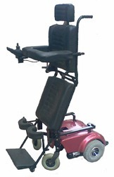 Powered Deluxe Stand- Up Wheelchair