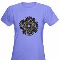 Purple Sports T Shirts