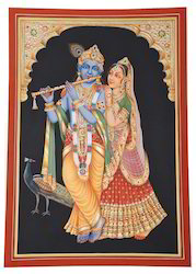 God Radha Krishna Paintings