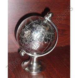Antique Brass Globe