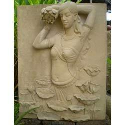Lady Figure on Wall Decorative