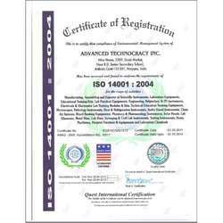 ISO 14001:2004 Certified Co.