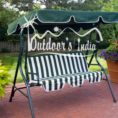 Garden 3 Seater Swing At Rs 7000 Piece Outdoor Swing Id 2626134288