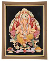 God Ganesha Paintings