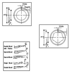 Standard Knife Holder Assemblies, Size/Dimension: 95MM OD
