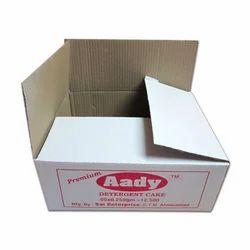 White Rectangular Detergent Packaging Box