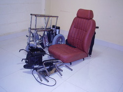 Folding Powered Motorized Wheelchair