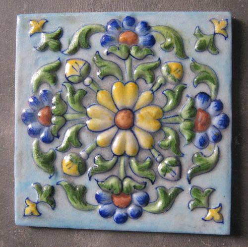 Jaipur tiles tile design ideas for Decor india jaipur